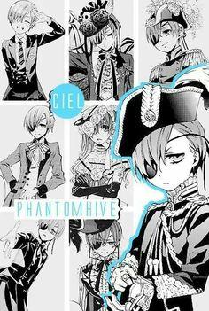 Ciel Phantomhive collage