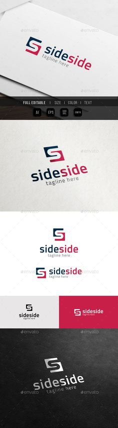 Finance Side  Business Marketing  S Logo — Vector EPS #group #secure • Available here → https://graphicriver.net/item/finance-side-business-marketing-s-logo/11372945?ref=pxcr
