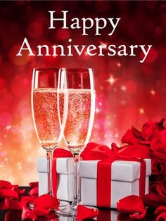 Send Free Cheers to the Special Day - Happy Anniversary Card to Loved Ones on Birthday & Greeting Cards by Davia. It's free, and you also can use your own customized birthday calendar and birthday reminders. Happy Wedding Anniversary Cards, Happy Wedding Anniversary Wishes, Anniversary Message, Anniversary Greetings, Anniversary Pictures, Anniversary Funny, Wedding Cards, Anniversary Scrapbook, Anniversary Flowers