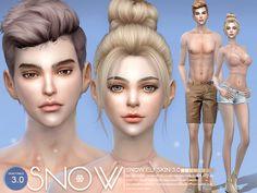 S-Club ts4 WMLL HS Snow Elf skintones 3.0 all age