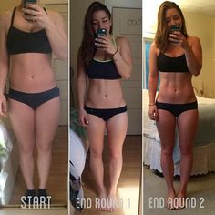 """dannissunnyday: """" hi-im-kelly: """" I have officially completed Round 2 of and I can hardly believe it! 6 months of Kayla's guides and I still can't believe that I've managed to stick to the program for this long. I didn't even want to show my face. Fitness Motivation, Weight Loss Motivation, Fitness Goals, Sport Motivation, Weight Lifting Workout Plan, Lifting Workouts, Weight Loss Inspiration, Body Inspiration, Fitness Inspiration"""