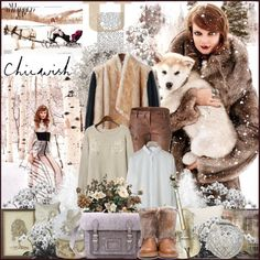 """""""Winter with Chicwish"""" by barbarela11 ❤ liked on Polyvore"""