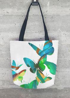 Tote Bag - Butterfly Tote by VIDA VIDA 6AGsg