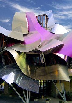 Hotel Marqués de Riscal, El Ciego, Spain, Frank Gehry #architecture ☮k☮