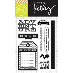 Hero Arts - Clearly Kelly - Clear Stamps -Destination