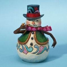 The Collectors Hub - Jim Shore Small Snowman Figurine, $19.95 (http://www.thecollectorshub.com/jim-shore-small-snowman-figurine/)