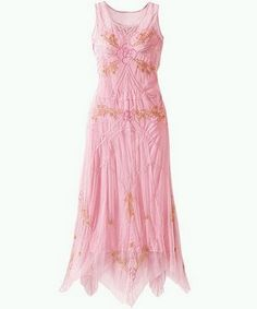 pink party dress-thetalesofgranny.blogspot.com