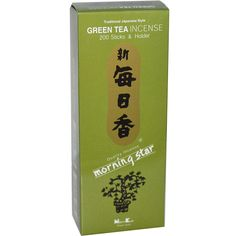 Amazon.com: Nippon Kodo - Morning Star - Green Tea 200 Sticks and Holder: Home & Kitchen