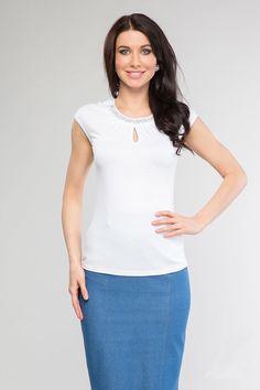Где купить белую блузку с доставкой