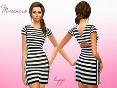 Laupipi: Marinero dress • Sims 4 Downloads
