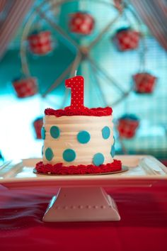 carnival smash cake ideas - Google Search