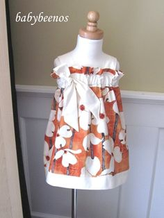 BELLA  -  Sash Tank Dress - ORANGE BLOSSOM  -Made To Order Sizes - 6M, 12M, 18M, 2T, 3T, 4T, 5, 6, 7, 8