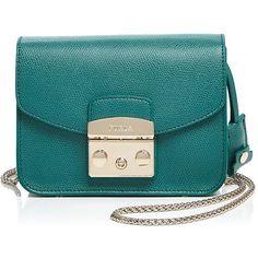 5a2905de8177 Furla Metropolis Mini Crossbody ($315) ❤ liked on Polyvore featuring bags,  handbags,
