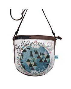 In a Nutshell Saddle Bag