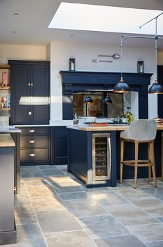 Furniture For Small Bedrooms Open Plan Kitchen Dining Living, Barn Kitchen, Living Room Kitchen, Home Decor Kitchen, New Kitchen, Cosy Kitchen, Kitchen Furniture, Kitchen Ideas, Grey Kitchen Designs