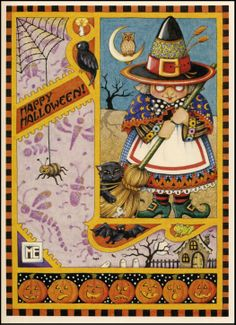 mary englebright art | Above, a greeting card by the ever bright Mary Engelbreit.