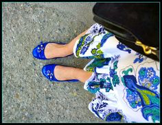 Sunday Edition - Blue Flats #sundayedition #blueflats #fashionblogger