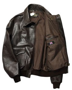 A2 Blouson Jacket with Ribbed Cuffs & Waistband Inspired by Memphis Belle…