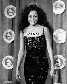 Diana Ross During 30th Annual Grammy Awards at Radio City Music Hall Photo | eBay