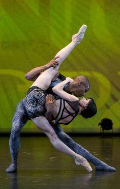 "Photo gallery: Melissa Hamilton and Eric Underwood, ""Raven Girl"", The Royal Ballet at Dance Open Ballet Festival, April 28, 2014, Alexandrinsky Theatre, Saint Petersburg, Russia - Photographer Stas Levshin - http://balletthebestphotographs.wordpress.com/tag/raven-girl/"