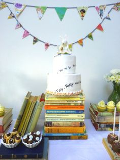 An idea for a book themed party!!!