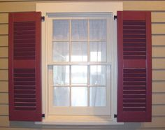 how to hang a fixed louver shutter which direction do the
