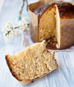 Tuscan Schiacciata, sweet Easter bread