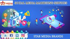 In Social Media Marketing is the use of social media platforms like Facebook, Linkedin, Twitter, Instagram, Pinterest, etc and provided services like daily post scheduling, brand growth, website trafficking, ads creation & optimization through best SMM Company in Pune.  Visit Star Media Brands SMM Company in Pune and See the benefits of Social Media Marketing in your business. Social Media Marketing Companies, Social Media Services, Digital Marketing Services, Content Marketing, Internet Marketing, Online Marketing, Recent Technology, Pune, Digital Media