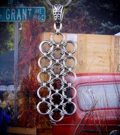 Stainless Steel Japanese Lace Chainmaille by GOTMaillebyChristy, $19.00