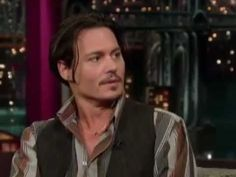 Johnny Depp clips to the voice of Bruce Guthro!!  Doesn't get much better than this :) @haley van liew H @shedoodle designs