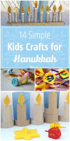 simple hannukah kids craft