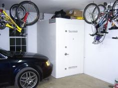 1000 images about storm shelters safe rooms on for Garage safe room