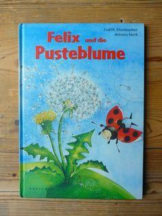 Meine grüne Wiese: Die Pusteblume - gemalt und gedruckt