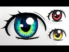 ▶ How to Colour Eyes with Copic Markers (3 Ways) - YouTube