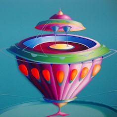 Senza titolo, 2010, olio e acrilico su tela, 100x100 cm - Ignazio Mazzeo #art #painting #colours #nature #ignaziomazzeo