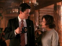 "Actor Kyle MacLachlan axed the romantic storyline between Agent Dale Cooper and Audrey Horne. | 18 Things You Didn't Know About ""Twin Peaks"""