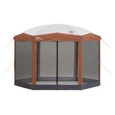 Coleman 12 x 10 Hex Instant Screened Shelter, (screen tent, coleman, screen house, screen tents)