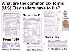 Etsy-preneurship Chapter 4 - Etsy Taxes