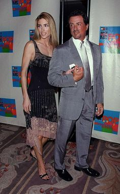 Sylvester Stallone is listed (or ranked) 12 on the list Famous Men Who Married Much Younger Women Sylvester Stallone Family, Sylvester Stallone Daughters, Celebrity List, Celebrity Photos, Hollywood Actresses, Actors & Actresses, Jennifer Flavin, Stallone Rocky, Marrying Young