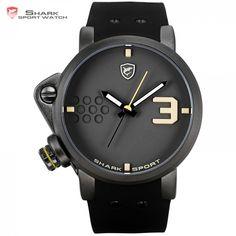 0212ee148 Salmon SHARK Sports Watch Top Brand Luxury Quartz-Watches Salmon SHARK  sports watch is the