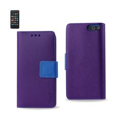 REIKO AMAZON FIRE PHONE 3-IN-1 WALLET CASE IN PURPLE
