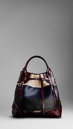 Shop women's bags & handbags from Burberry including shoulder bags, exotic clutches, bowling and tote bags in iconic check and brightly coloured leather Fashion Handbags, Purses And Handbags, Fashion Bags, Emo Fashion, Kelly Bag, Beautiful Handbags, Burberry Handbags, Burberry Tote, Burberry Prorsum