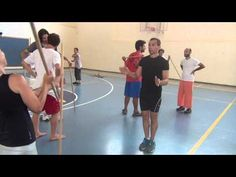 Bothmer Israel - Stick work in pairs (1) - YouTube
