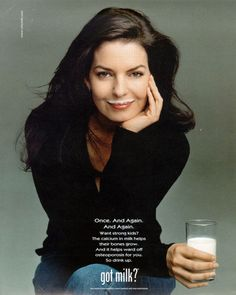 DaleyGators Top 25 Babes of All Time Sela Ward – The Daley Gator Calcium In Milk, Got Milk Ads, Sela Ward, Female Soldier, Hollywood, Beautiful Celebrities, Beautiful Women, Vintage Advertisements, Vintage Ads