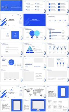 Web Design, Graphic Design Trends, Slide Design, Layout Design, Ppt Template Design, Powerpoint Template Free, Business Presentation Templates, Presentation Design, Google Report
