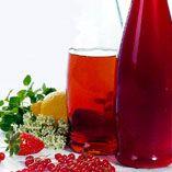 Rabarber- og jordbærsaft - Opskrifter