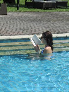 Read a good book in the pool.