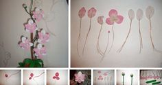 DIY gifts. orchids from beads