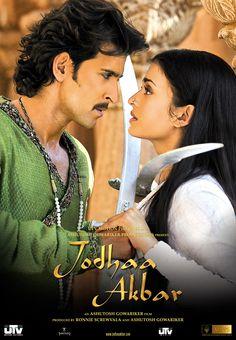 Hrithik Roshan and Aishwarya Rai in Jodhaa Akbar (2008).