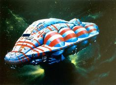 'Leviathan' by Chris Foss, 1976-77. Concept art for Alien. Image from Hardware: The Definitive SF Works of Chris Foss'